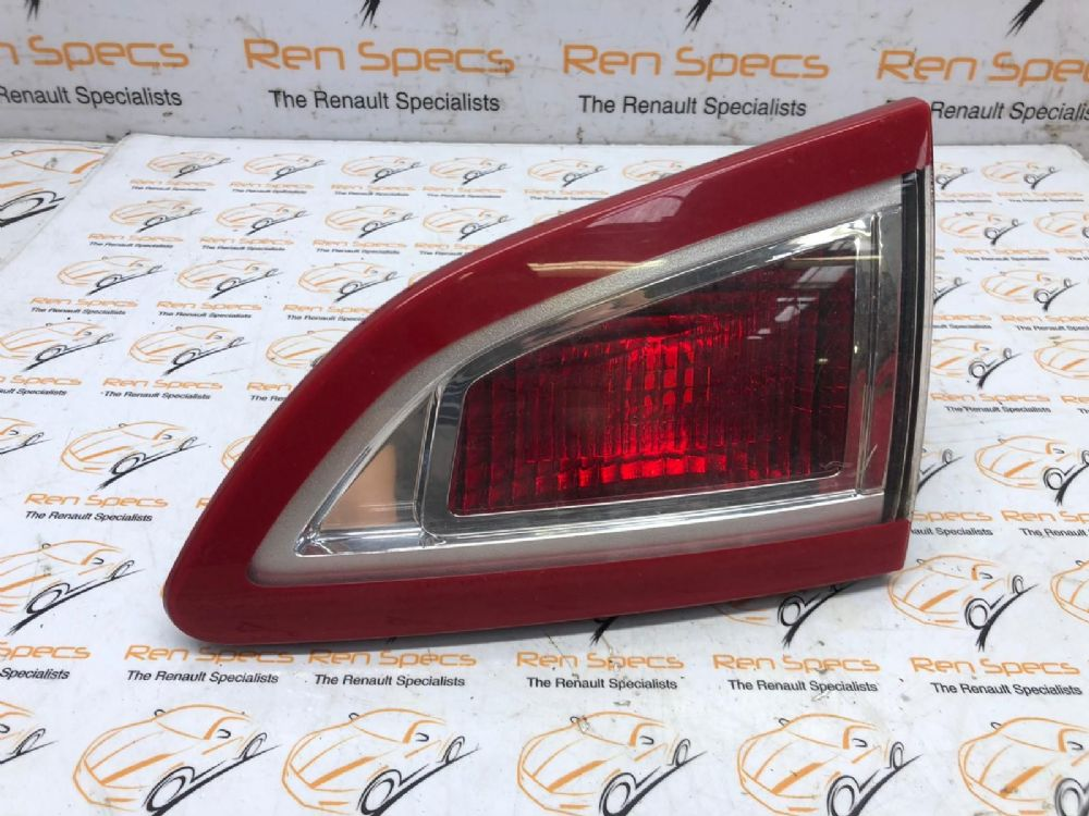 RENAULT SCENIC MK3 2011 REAR INNER TAIL LIGHT DRIVERS SIDE O/S 265500018R
